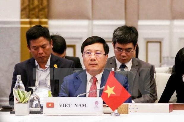Vietnam asiste a Conferencia de Cancilleres de ASEAN en Bangkok hinh anh 1