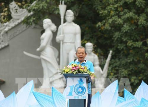 Vietnam promueve practica de ejercicios hinh anh 1