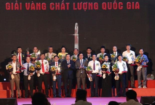 Vietnam honra a sus mejores empresas en Hanoi hinh anh 1