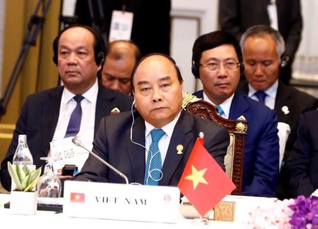 Primer ministro vietnamita asiste a Cumbre de ASEAN hinh anh 1