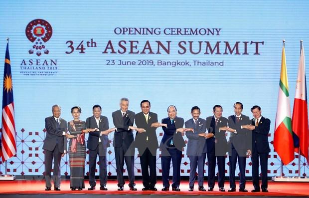 Reunion a puerta cerrada en Cumbre de la ASEAN en Tailandia hinh anh 1