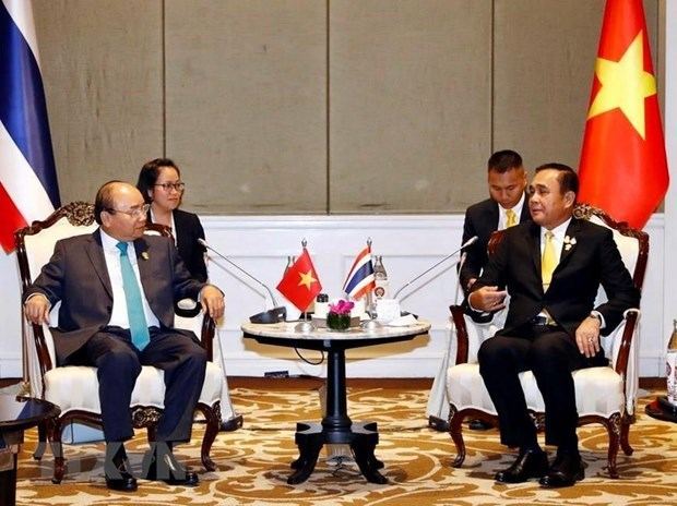Actividades del premier vietnamita en Cumbre de la ASEAN hinh anh 1