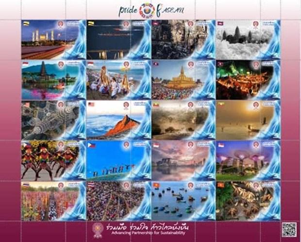 Emite Tailandia coleccion de sellos de la ASEAN hinh anh 1