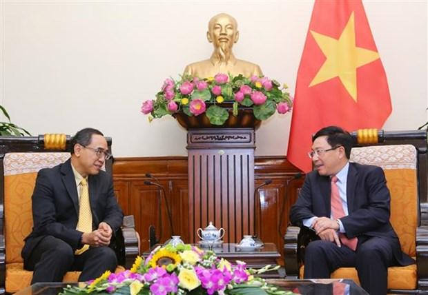 Destacan crecimiento de nexos Vietnam-Tailandia hinh anh 1