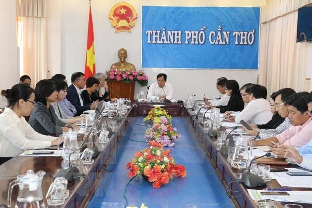 Estudia Japon estrategias de cooperacion agricola con Vietnam hinh anh 1