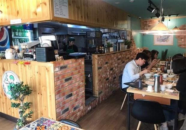 Impresionan restaurantes vietnamitas en Corea del Sur hinh anh 1