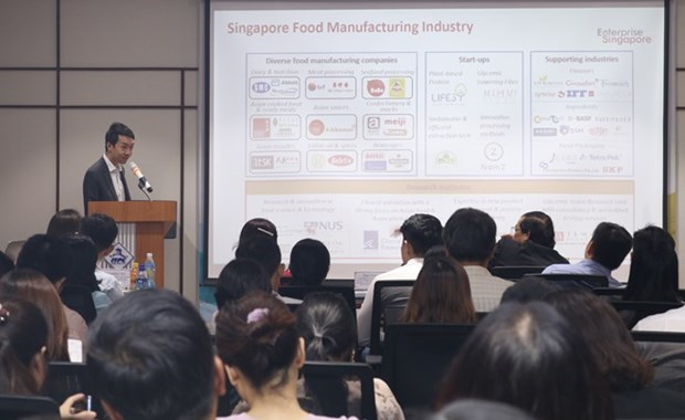 Impulsa Vietnam exportaciones a Singapur hinh anh 1