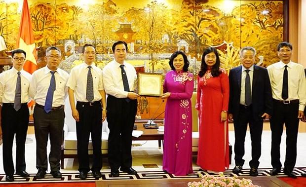 Buscan Hanoi y Beijing ampliar relaciones de amistad hinh anh 1