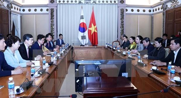 Impulsan cooperacion en comercio e inversion entre localidades de Vietnam y Corea del Sur hinh anh 1