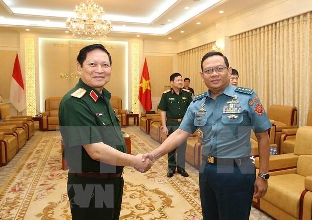 Efectuan Vietnam e Indonesia primer Dialogo sobre Politicas de Defensa hinh anh 1