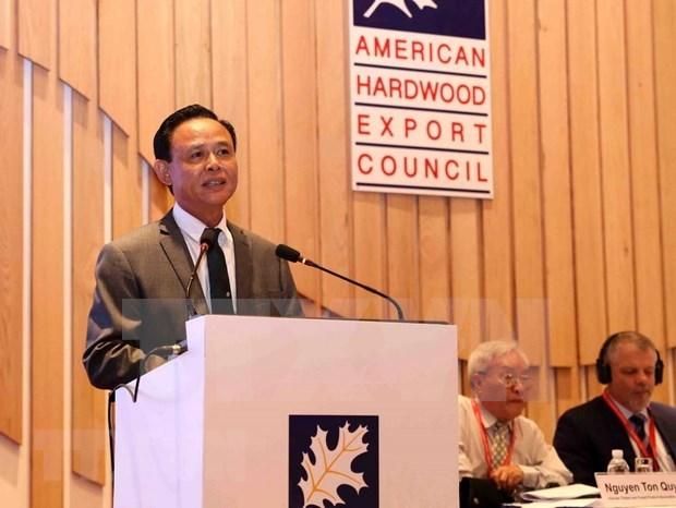 Destaca Vietnam a Estados Unidos como mercado mas importante de su sector maderero hinh anh 1