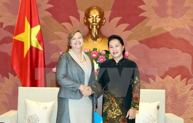 Presidenta parlamentaria elogia apoyo de UNICEF a proteccion infantil en Vietnam hinh anh 1