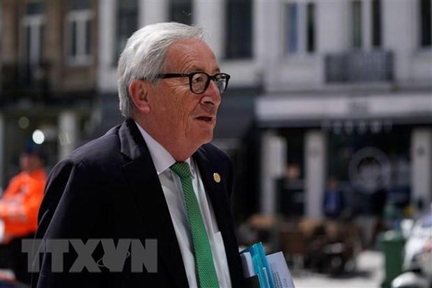 Saluda presidente de la Comision Europea Acuerdo de Libre Comercio con Vietnam hinh anh 1