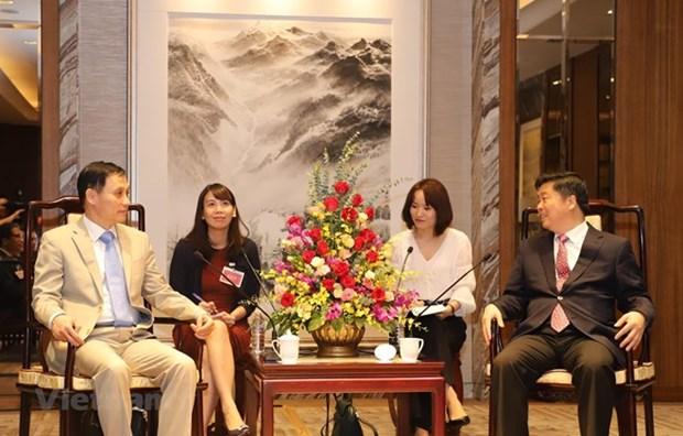 Promueven cooperacion comercial entre Vietnam y provincia china de Guangdong hinh anh 1