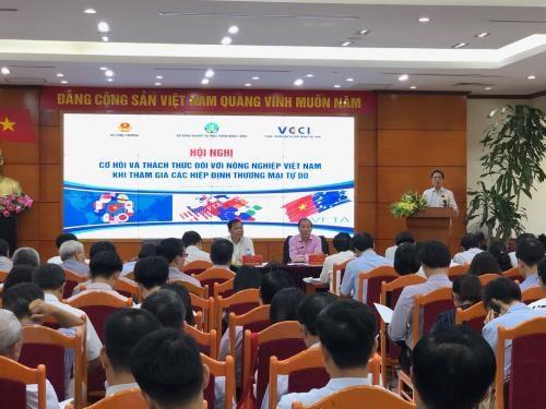 Brindan Tratados de Libre Comercio oportunidades para la agricultura de Vietnam hinh anh 1