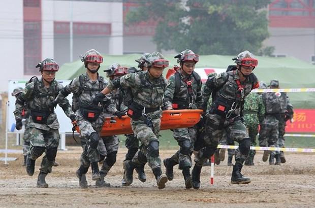Intensifican cooperacion unidades de zapadores de Vietnam y Camboya hinh anh 1