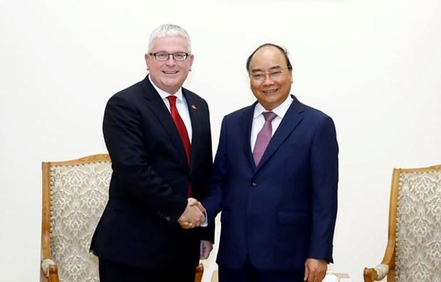 Otorga Vietnam medalla de amistad a embajador australiano hinh anh 1