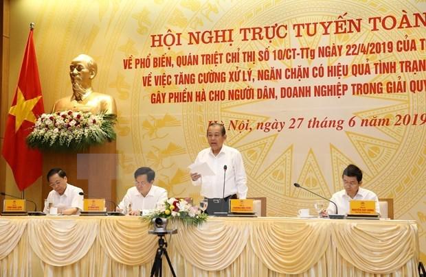Fortalecen en Vietnam lucha contra la corrupcion en la administracion publica hinh anh 1