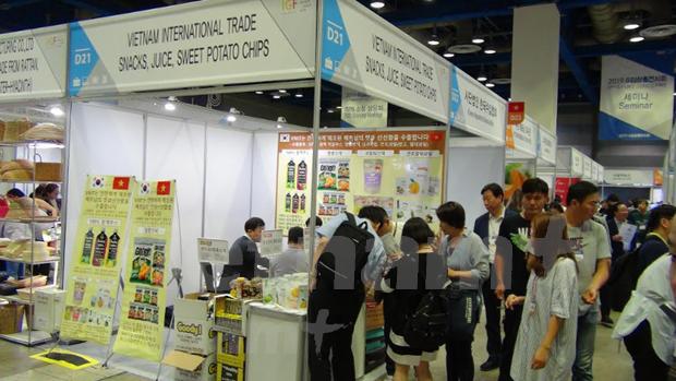 Promocionan empresas vietnamitas productos de exportacion en Corea del Sur hinh anh 1