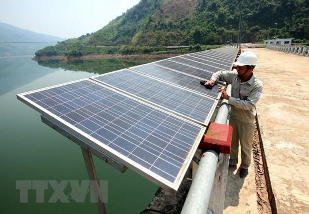 Inauguran en Vietnam complejo de plantas de energia solar hinh anh 1