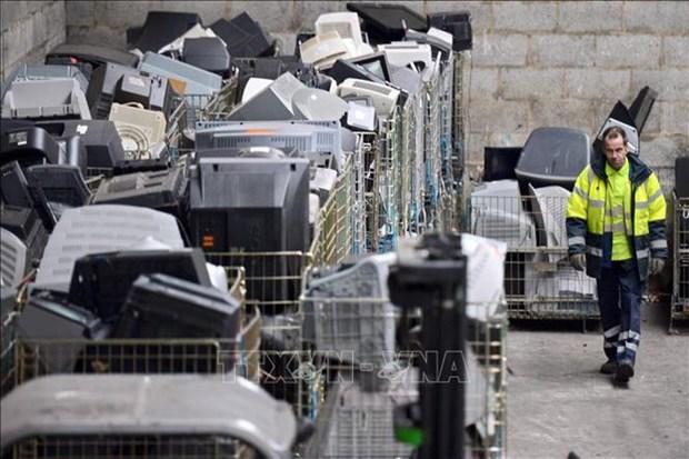 Fabricante japones de fotocopiadoras Fuji Xerox cierra planta de reciclaje en Tailandia hinh anh 1