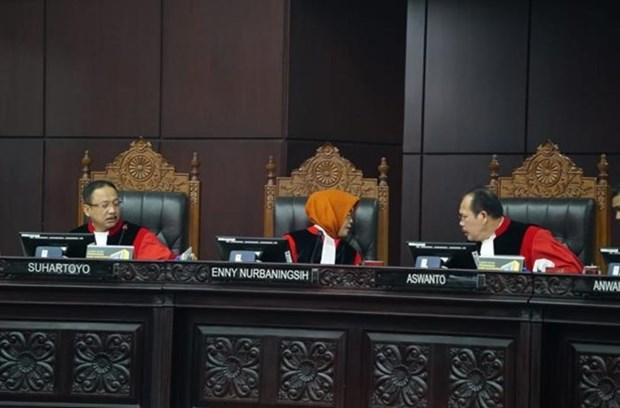 Rechaza tribunal de Indonesia apelacion sobre resultado de elecciones presidenciales hinh anh 1