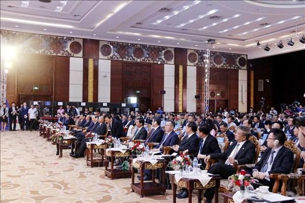 Tratan paises del Mecanismo de Cooperacion Lancang-Mekong sobre desarrollo de tecnologias de la informacion hinh anh 1
