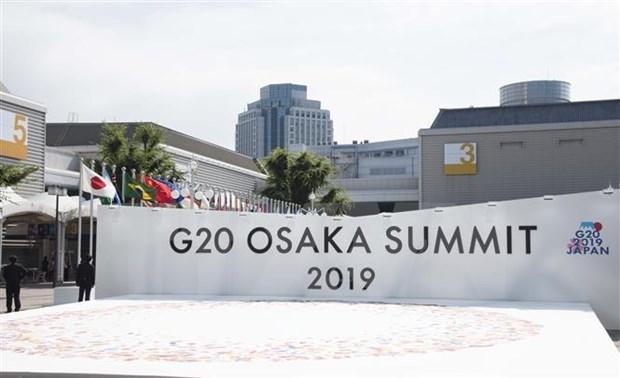 Inauguran Cumbre del G20 en la ciudad japonesa de Osaka hinh anh 1