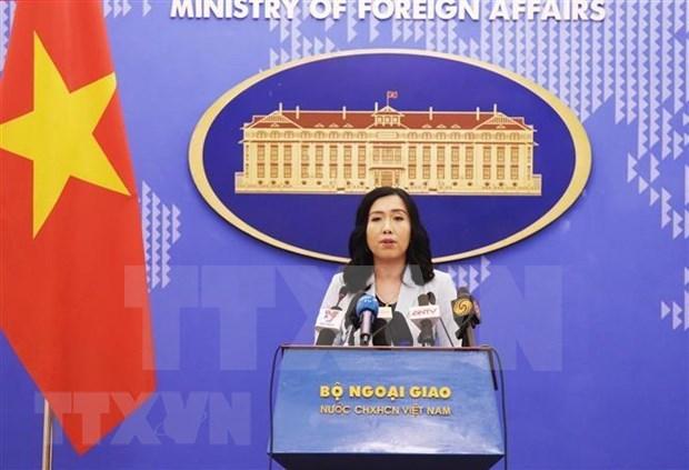 Vietnam otorga importancia a los nexos de asociacion integral con Estados Unidos, afirma su portavoz hinh anh 1