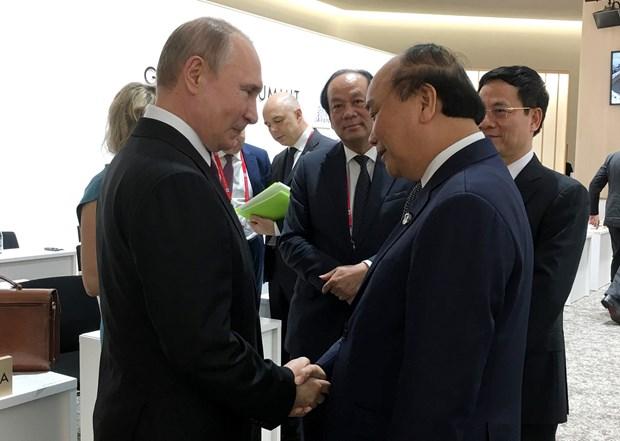 Dialoga premier de Vietnam con lideres mundiales al margen de Cumbre de G20 hinh anh 1