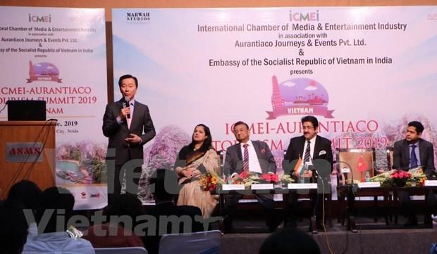 Divulgan el turismo vietnamita en la India hinh anh 1