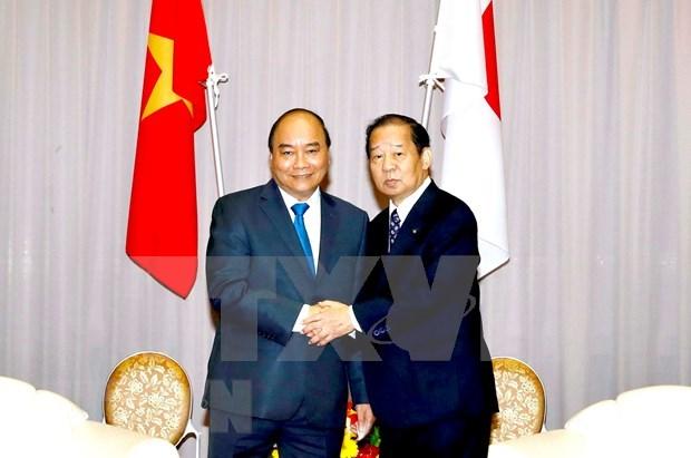 Premier vietnamita trabaja en la prefectura japonesa de Wakayama hinh anh 1