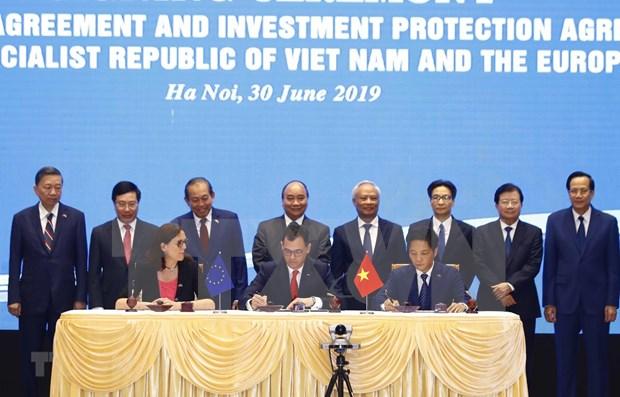 Aprovecha acuerdo de libre comercio Vietnam-EU EVFTA hinh anh 1