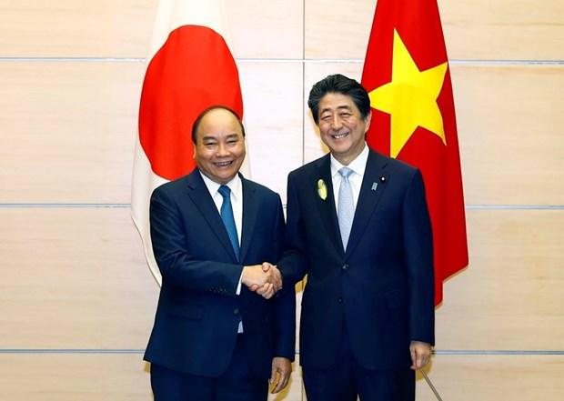 Proyectan Vietnam y Japon fortalecer confianza politica hinh anh 1