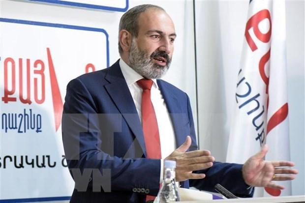 Realizara primer ministro de Armenia visita oficial a Vietnam hinh anh 1