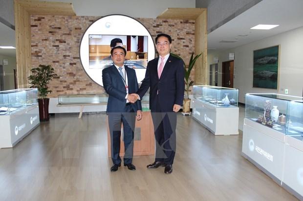 Intercambian Vietnam y Corea del Sur experiencias en lucha anticorrupcion hinh anh 1