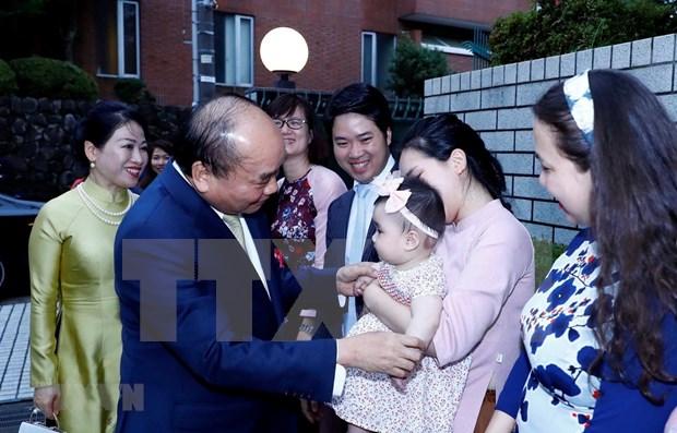 Concluye Premier de Vietnam visita a Japon hinh anh 1