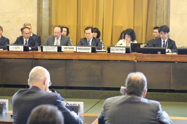 Promueve Vietnam deliberaciones sustantivas sobre desarme y no proliferacion de armas nucleares hinh anh 1