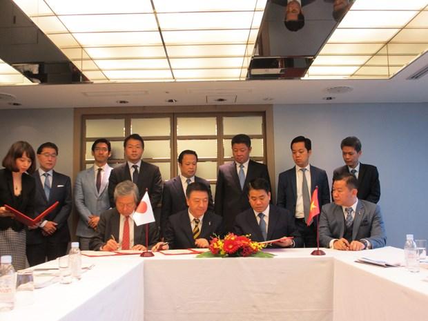 Proyectan empresas japonesas invertir casi cuatro mil millones de dolares en Hanoi hinh anh 2
