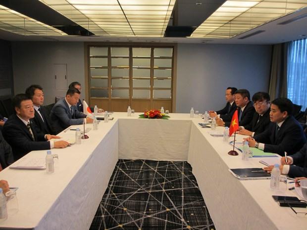 Proyectan empresas japonesas invertir casi cuatro mil millones de dolares en Hanoi hinh anh 3
