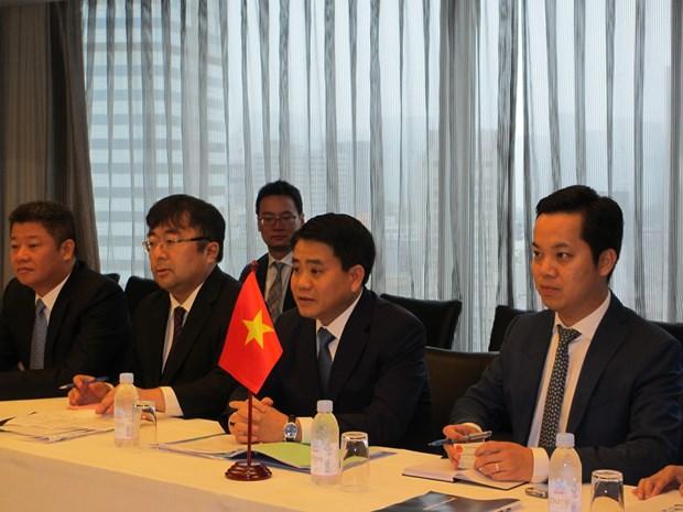 Proyectan empresas japonesas invertir casi cuatro mil millones de dolares en Hanoi hinh anh 5