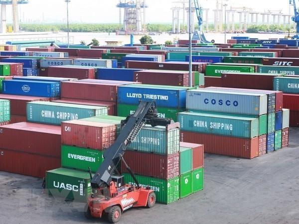 Registra Vietnam una alta transportacion maritima de mercancias en primer semestre de 2019 hinh anh 1