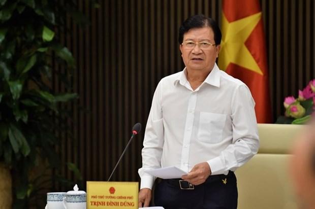 Vicepremier vietnamita Trinh Dinh Dung visitara los EAU y Tanzania hinh anh 1