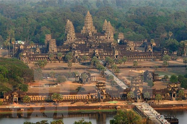 Disminuyen ingresos por turismo en conjunto de templos de Angkor en Camboya hinh anh 1
