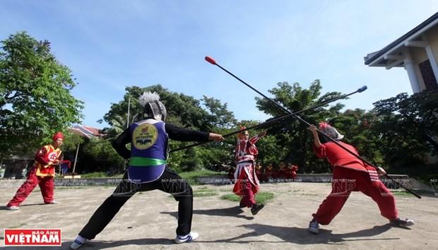 La quintaesencia de las artes marciales tradicionales de Vietnam hinh anh 3
