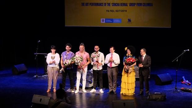 Impresionante noche musical impulsa relaciones entre Vietnam y Colombia hinh anh 1
