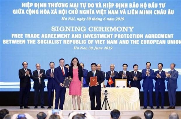 Aprecian empresas japonesas que EVFTA abre mas oportunidades de inversion en Vietnam hinh anh 1