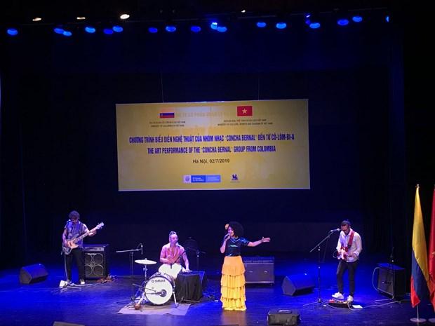 Impresionante noche musical impulsa relaciones entre Vietnam y Colombia hinh anh 2