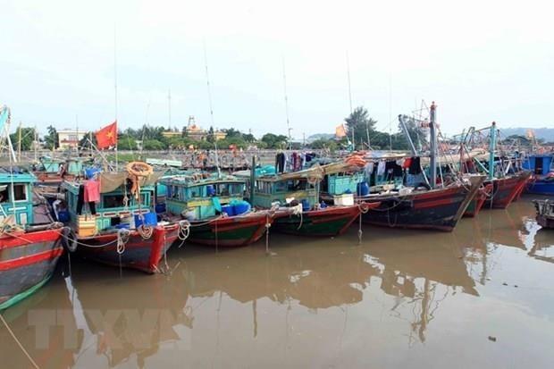 Se prepara Vietnam para enfrentar el tifon Mun hinh anh 1