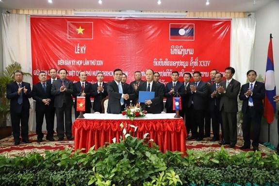Revisan Vietnam y Laos resultados de busqueda conjunta de martires vietnamitas hinh anh 1